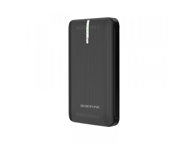 Внешний аккумулятор Borofone BT18 Prosperous mobile power bank 7000mAh Black на маркете Чехольня