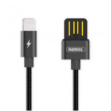USB кабель Remax RC-080i Lightning черный