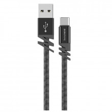 Кабель Borofone BX27 Dainty charging data cable for Type-C Metal Gray