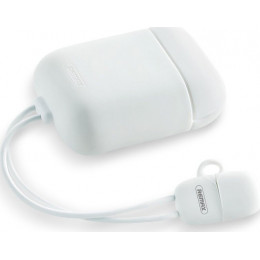 Чехол для Apple AirPods+кабель USB-iP Remax RC-A6 White 0.09m